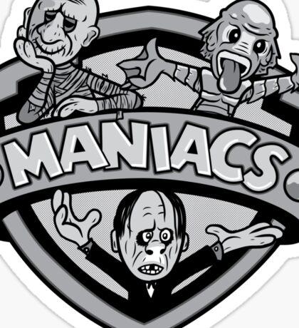 Classic Maniacs II Sticker