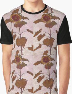 Egon Schiele - Sunflower 1909 Graphic T-Shirt