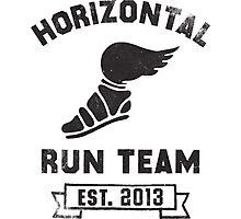 Horizontal Running Team, Est. 2013 Photographic Print