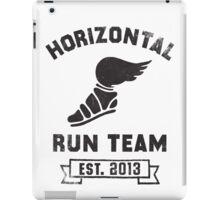 Horizontal Running Team, Est. 2013 iPad Case/Skin