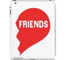 Best Friends Heart 2/2 iPad Case/Skin