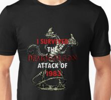 I SURVIVED THE DEMOGORGON ATTACK OF 1983 Unisex T-Shirt