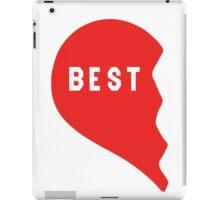 Best Friends Heart 1/2 iPad Case/Skin