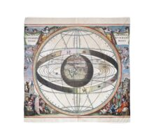 Signs of the Zodiac - Scenography of the Ptolemaic cosmography  Scarf