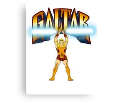 Galtar and the Golden Lance Canvas Print