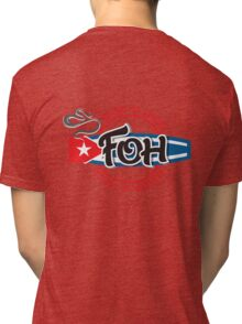 Large Cuban FOH 1 Tri-blend T-Shirt