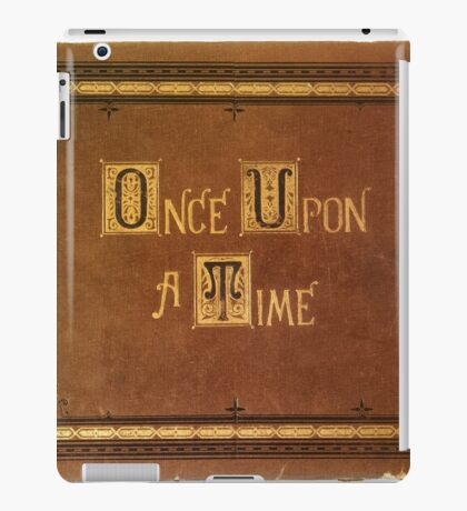 Once Upon A Time - Large Text Cover iPad Case/Skin