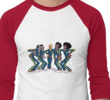 Harlem Globetrotters - Group Men's Baseball ¾ T-Shirt