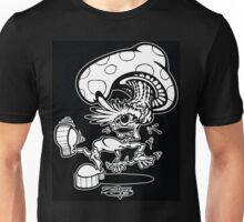 Zippy Shroom Head Character Unisex T-Shirt