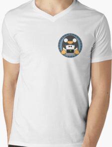 Root Penguin Critteroid Mens V-Neck T-Shirt