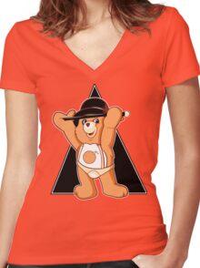 Clockwork Bear Women's Fitted V-Neck T-Shirt