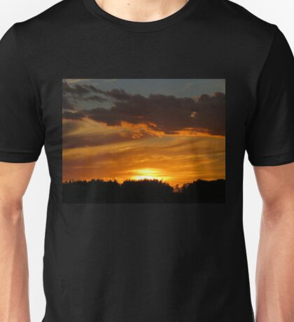 Amazing Sky, tonight, Sept 10 2016 Unisex T-Shirt