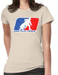 Ama Flat Track Womens Fitted T-Shirt