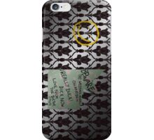 221 Beware iPhone Case/Skin