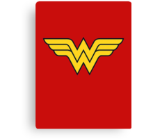 Wonder Woman Canvas Print