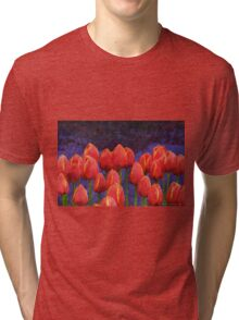 janes tulips Tri-blend T-Shirt