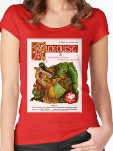 RuneQuest 2 Cover  Women's Fitted Scoop T-Shirt