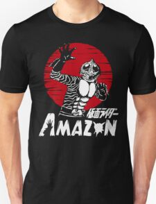 Japan Monster Tokusatsu Retro Masked Kamen Rider Amazon  Unisex T-Shirt