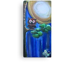 Who Who are you Canvas Print