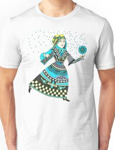 Queen Running with Magic Flower T-Shirt