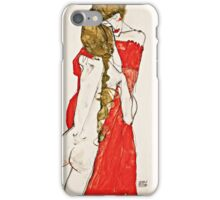 Egon Schiele - Mother and Daughter (1913)  iPhone Case/Skin