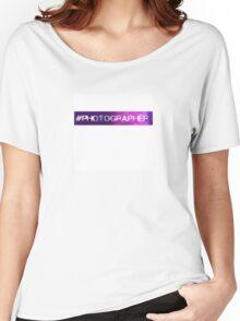 #Photographer Women's Relaxed Fit T-Shirt