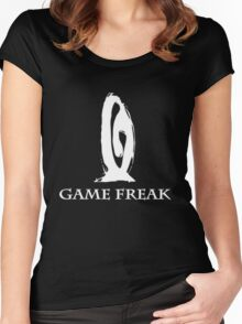 Game Freak Women's Fitted Scoop T-Shirt