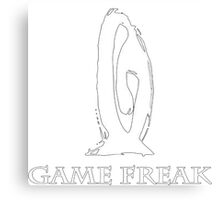 Game Freak Canvas Print