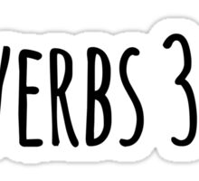 Proverbs 3:5-6 Sticker