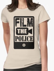 FILM THE POLICE Womens Fitted T-Shirt