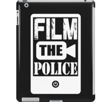 FILM THE POLICE iPad Case/Skin