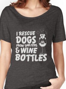 Dogs & Wine Women's Relaxed Fit T-Shirt