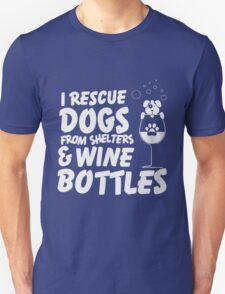 Dogs & Wine Unisex T-Shirt