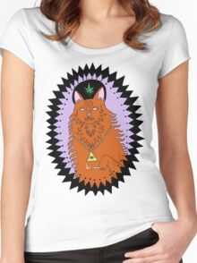 Wavves King Of The Beach Women's Fitted Scoop T-Shirt