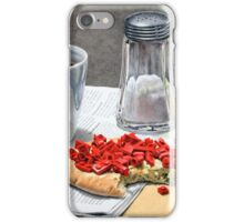 Don´t play with your food iPhone Case/Skin