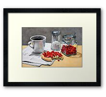Don´t play with your food Framed Print