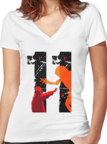 El 11 Women's Fitted V-Neck T-Shirt