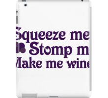 Wine humor iPad Case/Skin