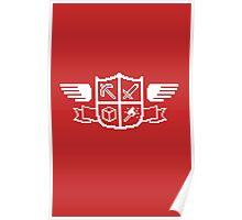 Craft Crest Poster