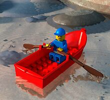 Legoboat by Johannes Wessmark
