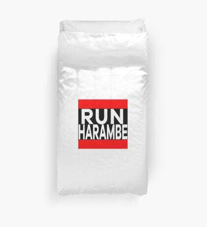 Run Harambe Shirt / Hoodie Duvet Cover
