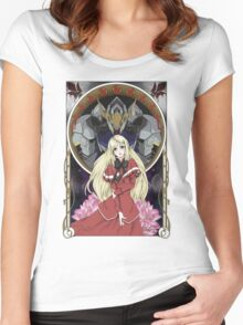 Kudelia - Hope for the Rebellion  Women's Fitted Scoop T-Shirt