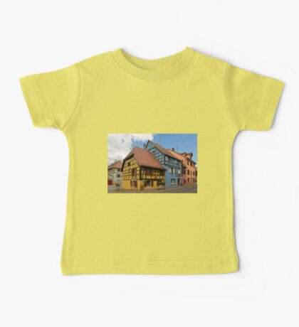 Colorful Half-Timbered Buildings Baby Tee