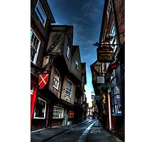 York Shambles Photographic Print