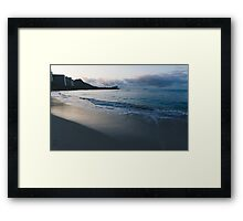 beach-morning 03 Framed Print