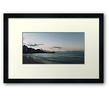 beach-morning 04 Framed Print