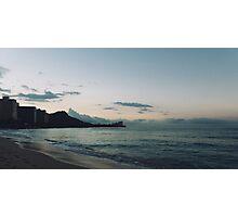 beach-morning 04 Photographic Print