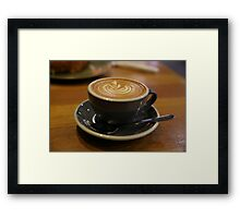 Who doesn't love a coffee Framed Print