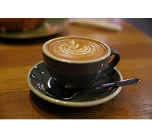 Who doesn't love a coffee Photographic Print