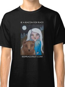 Be a Beacon for Peace - Artwork by Lulu's Heart Centered Healing Classic T-Shirt